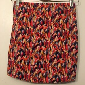 Bright BCBGeneration mini skirt